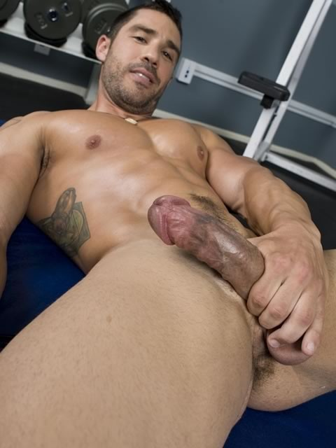 Cayden Ross Tugging Dick