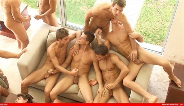 Group jerk off video mistake