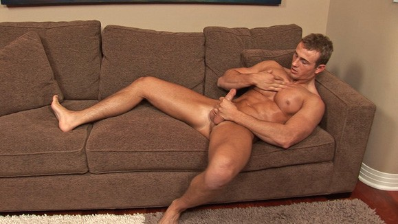 Free Gay Sex Photos: Spencer Jerks Off from Sean Cody at JustUsBoys ...