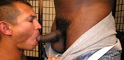 Servicing A Giant from New York Straight Men