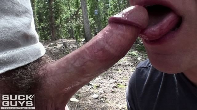 Gay on the trail