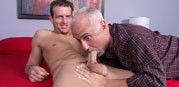 Sucking Beau Flexxx from Jake Cruise