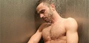 Marcel In The Shower from Uk Naked Men