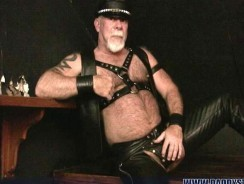 Bear Leather Daddy from Daddy Strokes