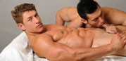 Bryce Evans Massaged from Dominic Ford
