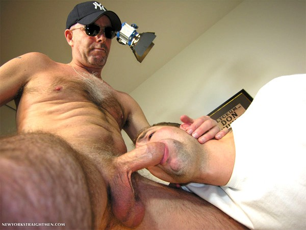 Something New york straight men cop cock you