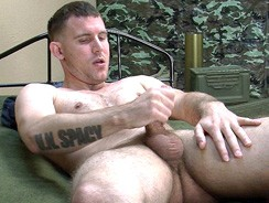Petty Officer Doyle from Naked Marine