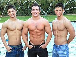 Twins Ajay Micky Trent from Fratmen Sucks