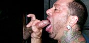 Ricky Uses The Gloryhole from Straight Fraternity