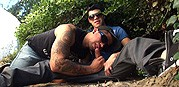 Best Friends Public Fellatio from Gay Room