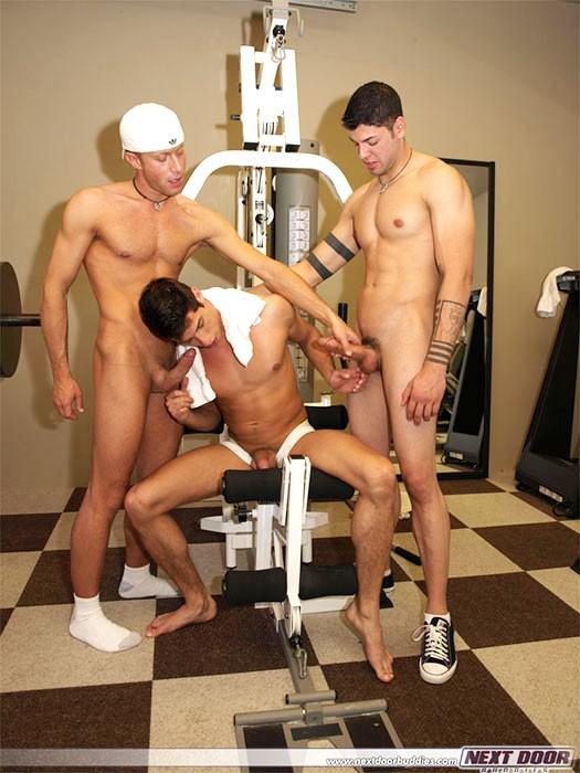 gay orgy gym