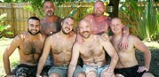 Florida Gang Bang from Hairy And Raw