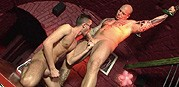 Skinhead Ass Play Scene 01 from Scary Fuckers