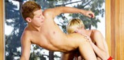 Bareback Massage from 8teen Boy
