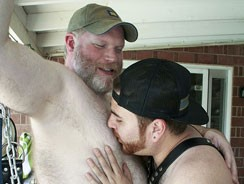 Gay Pornhome - Shep Hunter And Chris Rojo from Bear Films