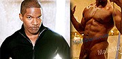 Jamie Foxx Nude from Male Stars