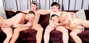 4 Boys 4 Cocks from Circle Jerk Boys