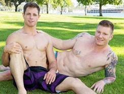gay sexhome - Dean And David Bareback from Sean Cody