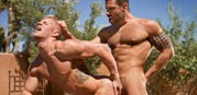 Letterio Amadeo And Johnny V from Raging Stallion