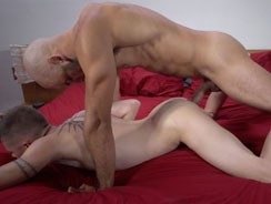 gay sexhome - Dillon Takes Austins Load from Guys In Sweatpants