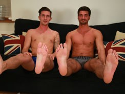 Gay Pornhome - James Sucks His 1st Cock from English Lads