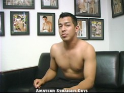 First Timer Joey from Amateur Straight Guys