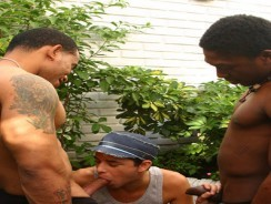 3 Hung Black Men from Black Machines