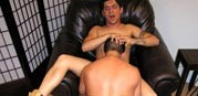Bobby Blows Angel from New York Straight Men