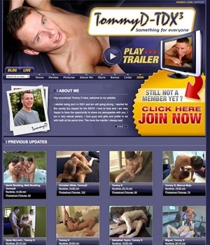 Tommy D Xxx Tommy D has been thrilling us with his body, his cock and his ...